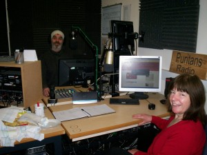 Gill Meredith on the radio
