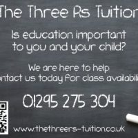 The Three Rs Tuition - book us today.